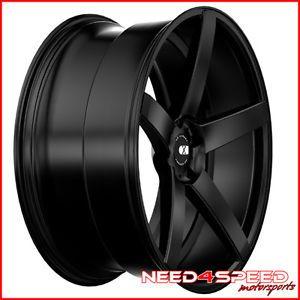 """20"""" Infiniti M35 M45 XO Miami Concave Matte Black Staggered Wheels Rims"""