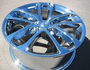"Exchange Your Stock 4 New 18"" Factory Nissan Altima Chrome Wheels Rims 09 12"
