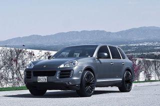 """22"""" MRR HR6 Matte Black Concave Wheels Rims Fits Porsche Panamera s 4S Turbo"""