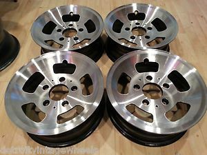 "15"" Factory Ford Forged Slot Mag Wheels Rims Ford Truck Bronco Van 5x5 5"