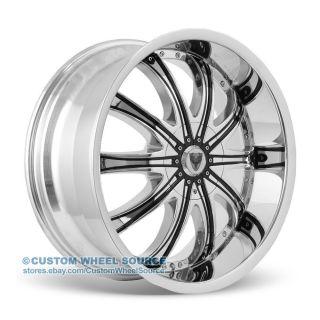 "20"" Venice Roma Chrome Wheel Tire Package Rims Pontiac Lincoln Scion Toyota"