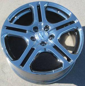 "18"" PVD Factory Acura TL TSX CL RSX Honda Accord MDX Wheels Rims Set of 4"