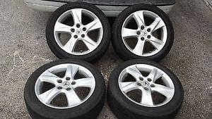 09 12 Acura TSX Factory 17 Wheels Tires Rims 225 50 17 Accord 04 08 TL