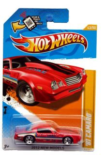 2012 Hot Wheels New Models 43 1981 Chevrolet Camaro Red
