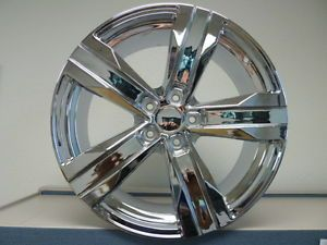 20x8 20x9 Stagger Chrome 2010 2011 2012 2013 Camaro ZL1 Wheels Rims Set