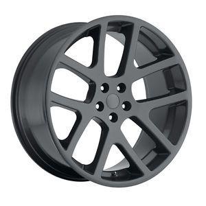 """20"""" Gray Viper SRT8 Wheels Fit Dodge Charger Magnum Chrysler 300C Challenger"""