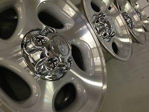 4 Ford Ranger Explorer Factory 16 Wheels Rims Caps Machined