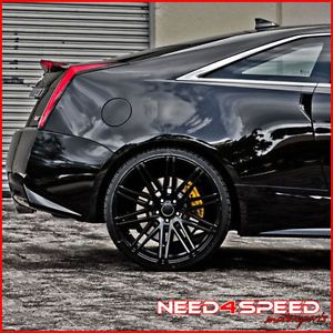 """20"""" Infiniti G37 G37S Coupe XO Milan Concave Matte Black Staggered Rims Wheels"""