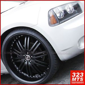 24 inch Rims Wheels Dodge Magnum Charger 2CRAVE 11 NO11 300C Crysler Wheels