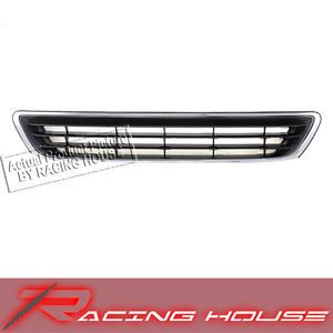 97 99 Lexus ES300 Chrome Frame Black Insert Grille Grill New Replacement Parts