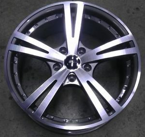 "17"" inch 5x4 5 Gunmetal Machined Wheels Rims 5 Lug Mazda Nissan Scion Toyota"