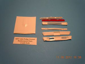 Resin Cast MPC 1969 Dodge Coronet Replacement Parts 1 25th Scale