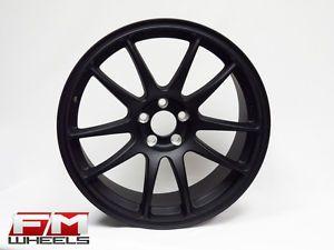 18x8 5 Koya CR Tek Flat Black Rims 5x100 VW Jetta Golf GTI R32 Scion FRS Wheels
