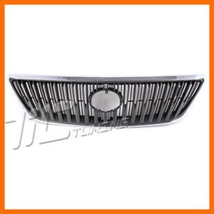2004 2006 Lexus RX330 Chrome Frame Gray Insert Grille Grill New Front Body Parts