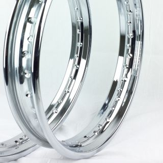 New Did Honda CB750 Rims Set Front Rear Chrome Wheel Rim K0 Sandcast 725 CB 750