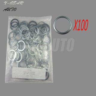 100pc Oil Drain Plug Crush Washer Gaskets 11126 AA000 for Subaru