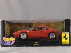 1 18 Scale Mattel Hot Wheels Collectibles Ferrari 1984 GTO Die Cast Car