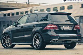 "22"" Mercedes Benz W216 CL550 CL600 CL63 Rohana RC10 Concave Silver Wheels Rims"