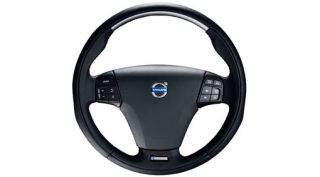 Brand New R Design Sport Leather Steering Wheel Volvo C70 C30 30756213