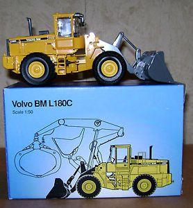 Volvo BM L180C Wheel Loader 1 50 Toy Construction Scoop