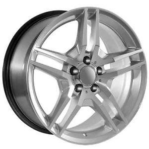 """18"""" inch Mercedes Benz Wheels Rims Fit AMG Models C CL CLK CLS E s SLK Class"""