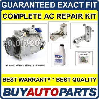 New Complete AC Repair Kit with Compressor Clutch Mercedes Benz CL550 S550