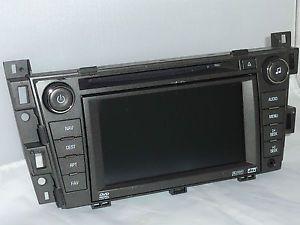 LCD Screen Parts 07 08 Cadillac SRX GPS Navigation Radio DVD CD Player
