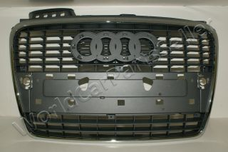 Audi A4 2005 2008 B7 Front Grille with License Plate European Type 2006 2007