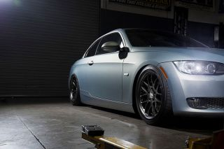 "19"" MRR GT 7 GT7 Black Staggered Rims Wheels Fits BMW E60 M5"