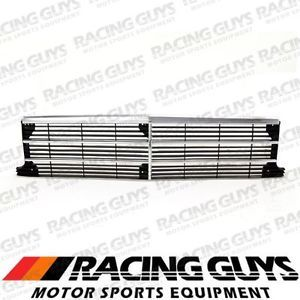 Buick Century 86 88 Chrome Frame Insert Grille Grill Front Body Parts GM1200158