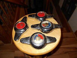 4 Pcs 1953 1954 Buick Skylark Wire Wheel Chrome Spinner 1162002
