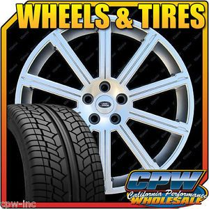 """New 22"""" inch Set of Wheels Rims Tires Package Range Rover Sport Supercharged"""