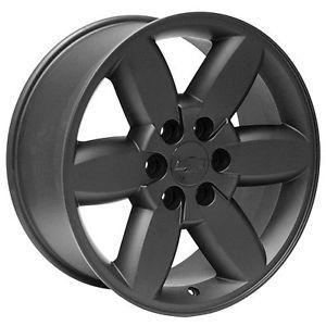 """20"""" inch Black Chevy Silverado Suburban Tahoe Avalanche Wheels Rims"""