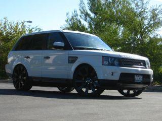"Range Rover Sport Stormer II Wheels Tires Package Bolt on Ready 24"" 06 07 08 09"