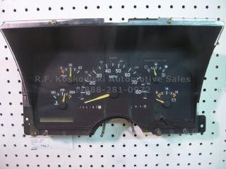 Interior Dash Instrument Cluster Speedometer Gauges Chevy GMC Pickup Truck