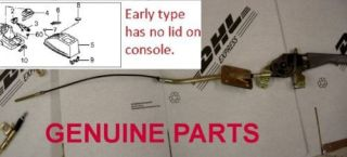 Genuine Ssangyong Musso LH Rear Handbrake Cable 1995