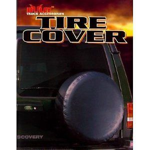 Black Jeep Hummer H3 Spare Wheel Tire Cover Rugged Easy Install 16'' Brand New