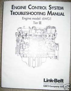 Link Belt Isuzu 6WG1 Engine Troubleshooting Manual