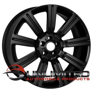 "22"" Land Rover Stormer Matte Black Wheels Rims Fit Range Rover Sport Superchared"