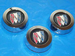 "Buick 14"" Rally Wheel Center Caps Used GS Regal Stars Skylark Gran Sport"