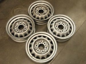 Vintage Artillery Wheels 16x4 50 16 Steel Artillary Chevy GMC Chevrolet 6 Lug