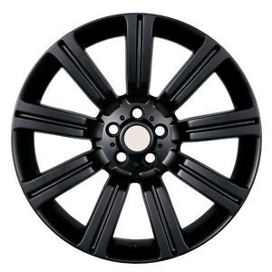 "22"" Land Rover Stormer Wheels 5x120 Black Rim Fits Land Rover Range Rover Sport"