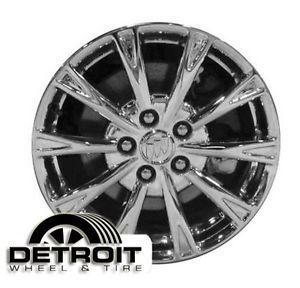 Buick Lucerne Factory Wheel Rim 4091 Silver 2009 2011