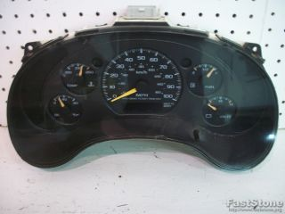 Interior Dash Instrument Speedometer Cluster Assembly Chevy GMC Pickup Truck 2 2