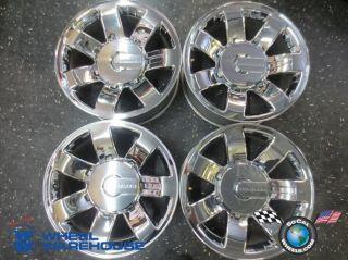 Four 08 09 Hummer H2 Factory 20 Wheels Rims 6310 9596680 Chevy GMC HD2500
