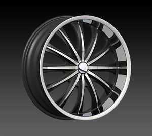 "20"" Velocity V15 Chrome Wheel Rim Tires Fit Toyota Nissan Honda Chevy Kia Mazda"