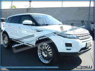"Land Rover Evoque 22"" inch Wheels Rims Tires Package Custom Forged Multi Piece"
