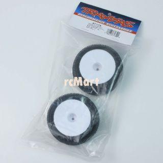 Traxxas 7175 Response Pro S1 Compound Tires and Dish Wheels 1 16 E Revo VXL