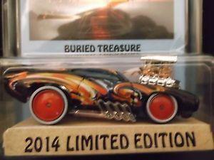 2014 Hot Wheels Kustom Super Treasure Hunt '69 Pontiac GTO Judge Real Riders
