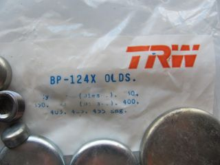 TRW BP124X Freeze Plugs Oldsmobile 330 350 403 425 455 V8 Engine